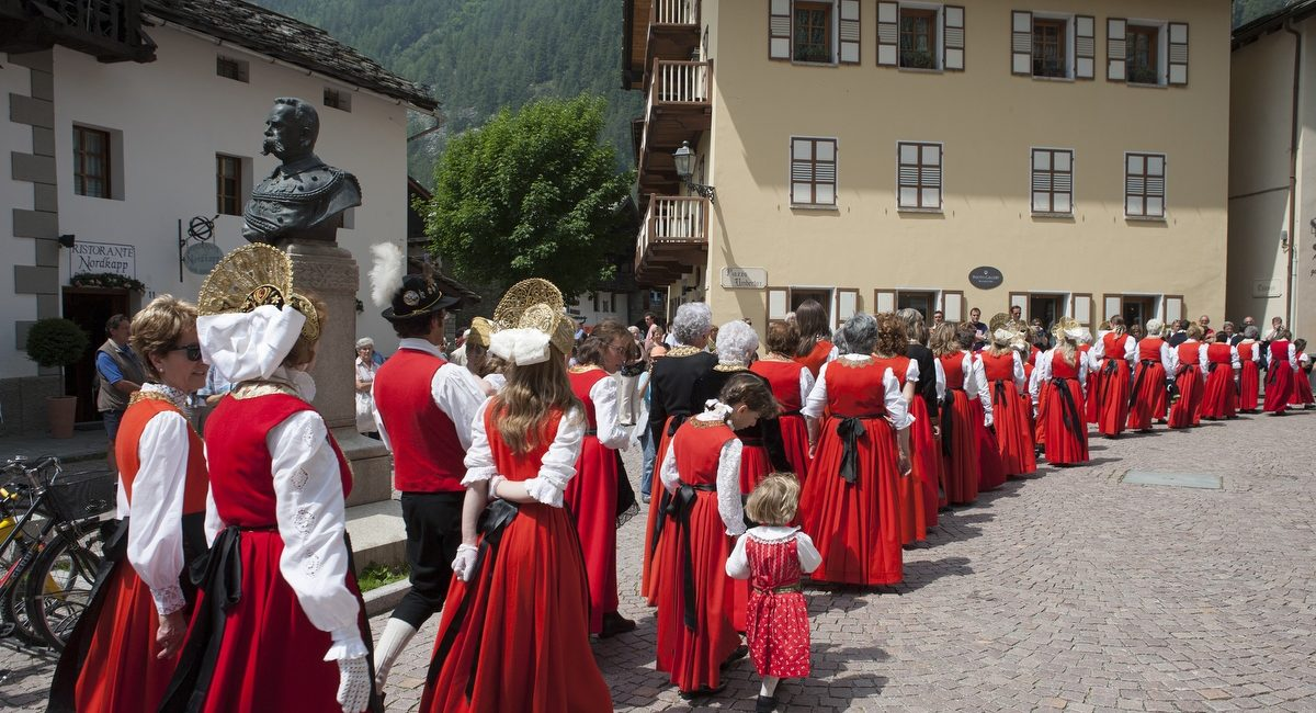Gressoney, Italy - Historical and cultural identities